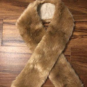 Ann Taylor Faux Fur Wrap